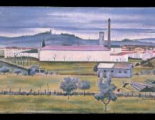 San Gervasio (Dalla finestra dello studio, case di sobborgo)