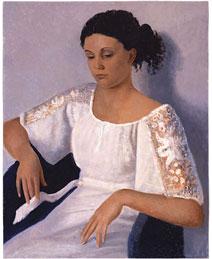Ragazza col vestito bianco