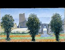 Arpino, uno dei bozzetti esecutivi per la Sala del Palazzo della Provincia di Frosinone