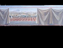 Bozzetto per una decorazione alla Scuola di Guerra Aerea di Firenze