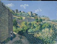 Sotto le mura di Anagni