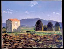 I Monti Ernici visti dalla Navicella